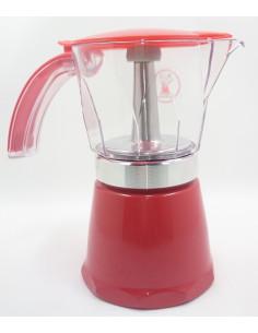 Italienische Aluminiumkaffeemaschine Nera