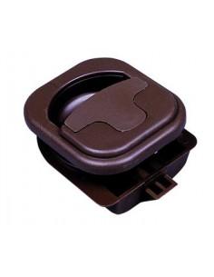 Cerradura/tirador para mobiliario 50 x 60 mm