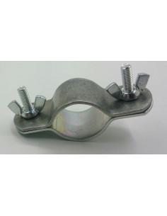 Abrazaderas de doble sujeción para tubo de refuerzo de 28-32mm. x2