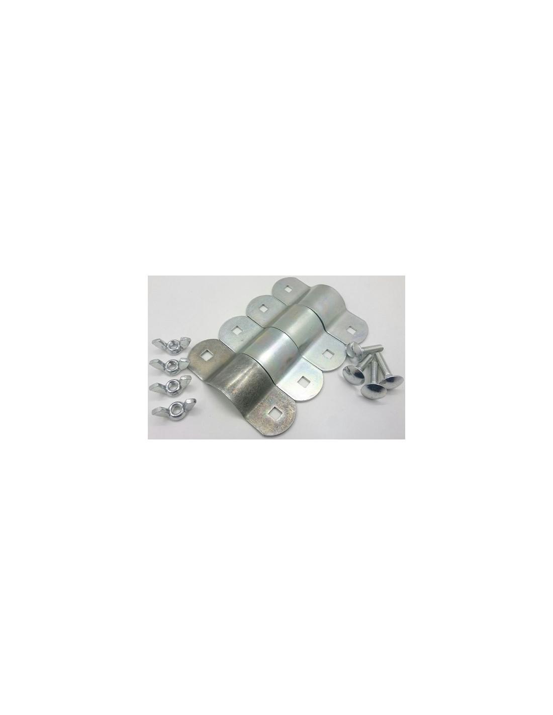 Abrazaderas de doble sujeci n para tubo de refuerzo de 22 - Abrazaderas para tubos ...