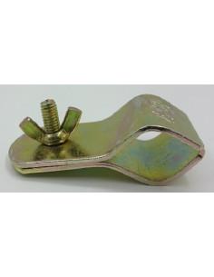 Abrazaderas finales de sujeción para tubo de refuerzo de 25-28mm. x5