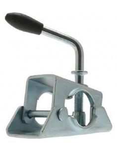 Pince de roue jockey de 48 mm, poignée rigide avec manivelle