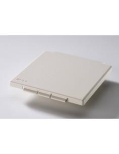 Couvercle pour prise IP44 110x110mm