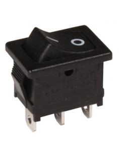 Conmutador basculante de 2 posiciones y un circuito