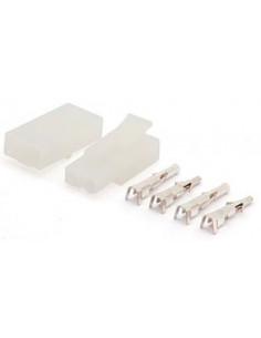 6,2 mm Steckerset mit zwei Kontakten