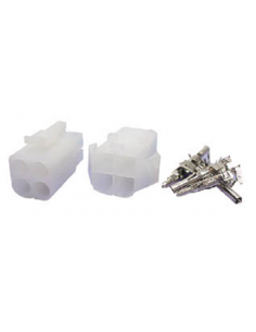 Juego de conectores de 6,2mm 2x2 contactos