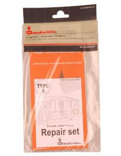 Kit de réparation toit et auvent en polyester