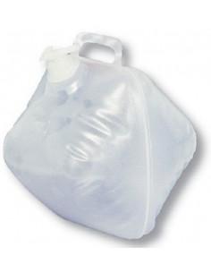 Depósito plegable con grifo de 20 litros
