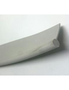 Canutillo de PVC para faldón o avance 1 metro gris