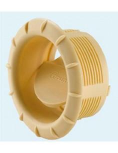 Boca salida de ventilación para tubos Truma 65-72mm beig