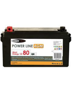 Batería auxiliar Power Line 80 AGM - Inovtech