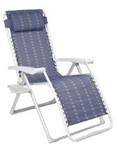 Espreguiçadeira de alumínio reforçado relax chair