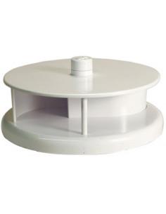 Aireador giratorio para techo