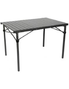 Mesa maciça com placa laminada de alumínio BO-CAMP