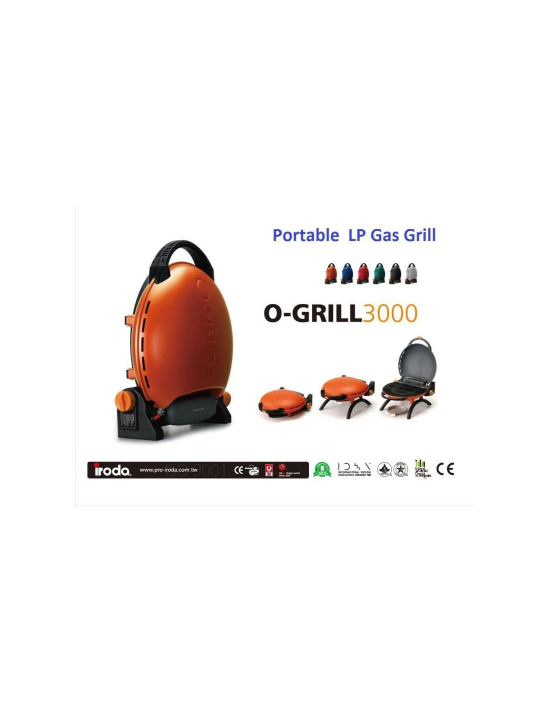 Barbecue portable OGrill 3000 | Tienda de Camping online