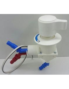 Mezclador monomando agua fria y caliente