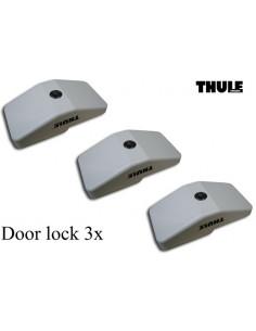 Dreifaches cerradura Türschloss 3x THULE