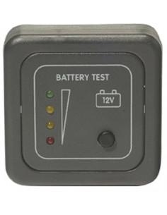 Painel indicador LED de controle da bateria com moldura