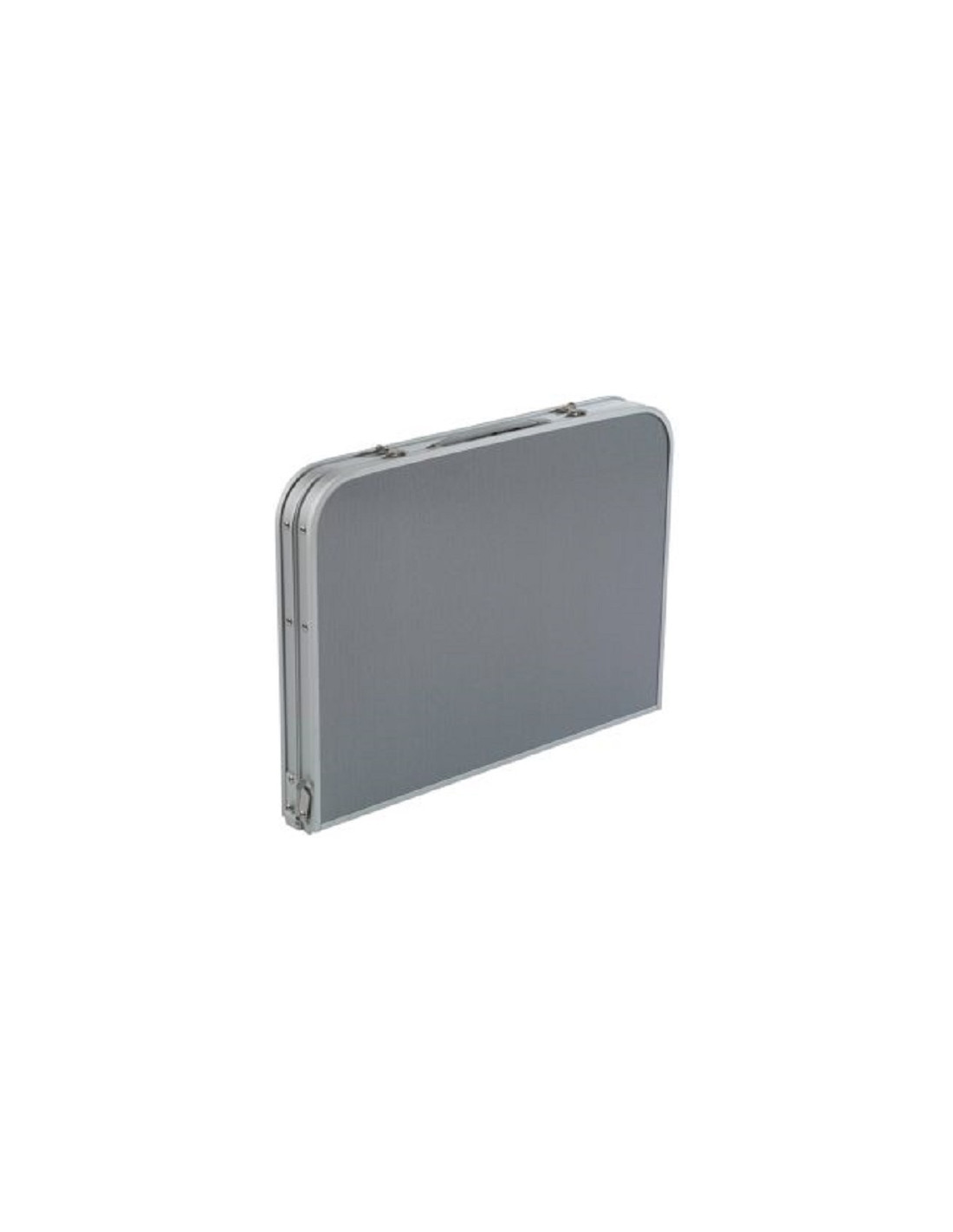 Mesa maleta luxus plegable 90 x 60 cm camp4 tienda de for Mesa de camping plegable de aluminio