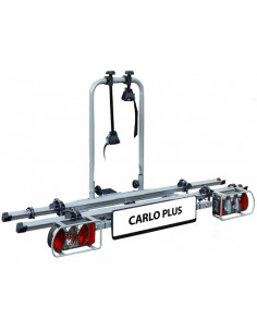 Porte-vélos pour boule de remorquage EUFAB CARLO PLUS pour deux vélos