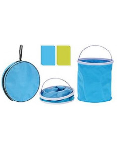 Cubo de agua plegable