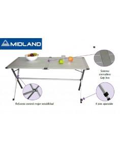 Table pliante en aluminium 4 personnes 110cm