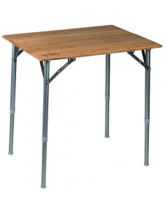 Table éco bambou pliante 65 x 50cm