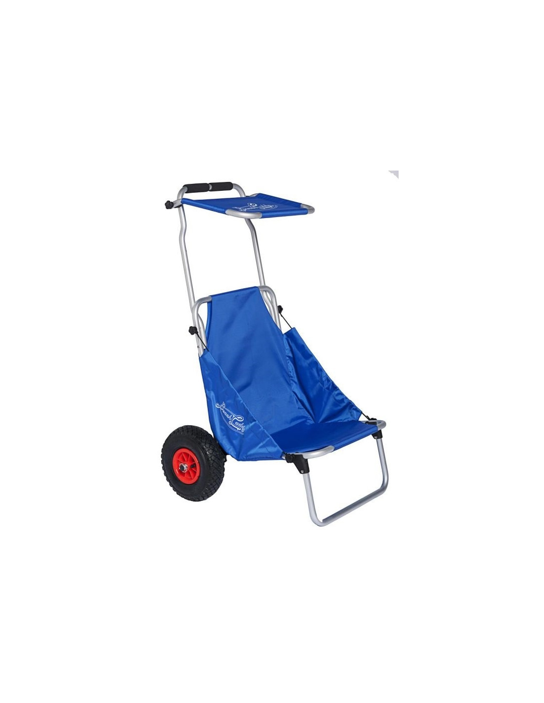 Carro silla de playa con toldo en aluminio tienda de for Coche con silla de auto