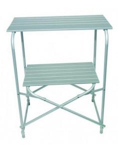 Midland Pliant Laki armário de mesa de cozinha de alumínio