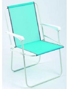 Cadeira de praia dobrável para camping Alco