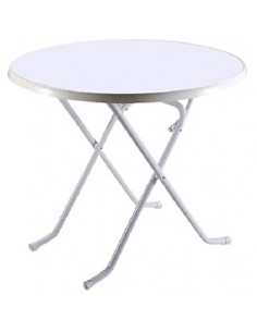 Table pliante Eredu 85 Ø cm