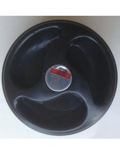 Tapón para depósito de agua con llave negro