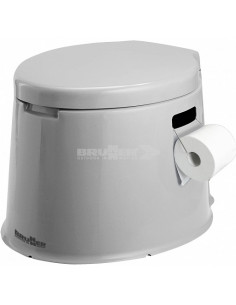 7 litros Brunner Optitoil toalete portátil com assento e tampa