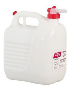 Recipiente de plástico com torneira de 5 litros