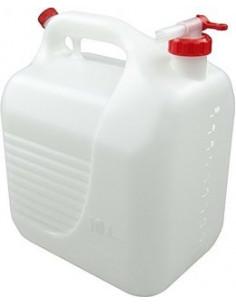 Bidón de plástico con grifo de 10 litros