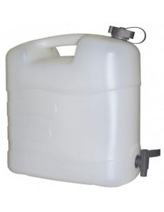 Tambor de plástico de 20 litros com torneira