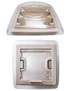 Transparente Dachluke S 28 X 28 cm