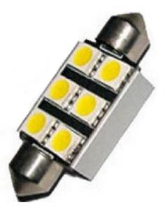 Bombilla LED 39mm 12v Canbus