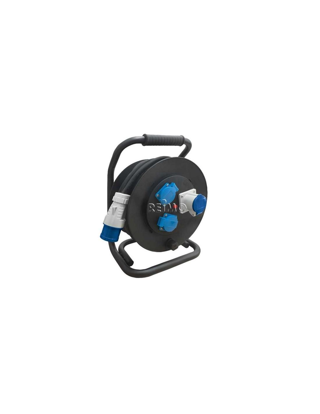 Showtec fuerte corriente alargador cee32 3x32a 415v 25 metros de cable de goma