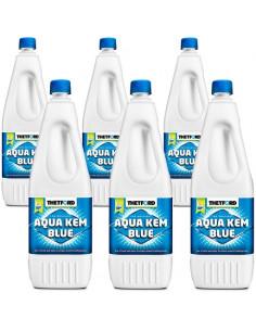Aqua kem azul pack-6 thetford