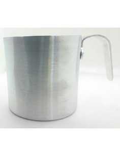 Copo de alumínio, diâmetro 9 cm
