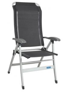 Ergo Maxi cinza cadeira dobrável cinza. Midland