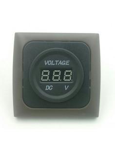 Voltímetro indicador de bateria
