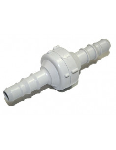 Conexão de válvula de retenção para tubo de 10 mm