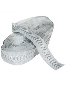 Bande de profilage textile pour protection thermique ou pare-soleil de fenêtre