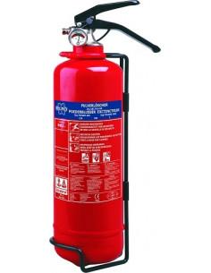 Extintor 2 kg en polvo con soporte