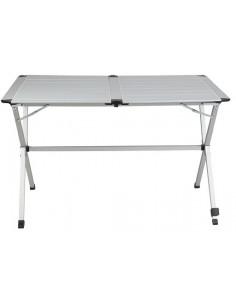 Mesa aluminio plegable 6 personas 140cm