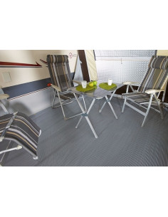 Tapete Tapis piso 500gr / m PVC 250 X 600 cm Midland.