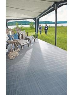 Tapis tapis de sol 500 gr / m PVC 300 x 550 gris
