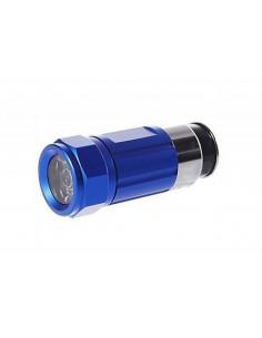 Lanterna elétrica conduzida recarregável de 12v mais clara
